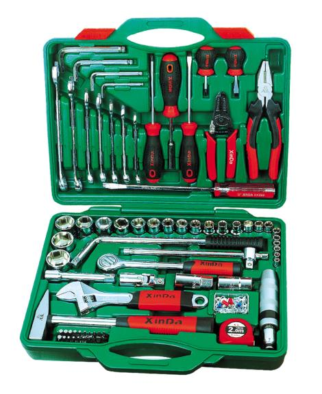 100PCS汽修组合工具