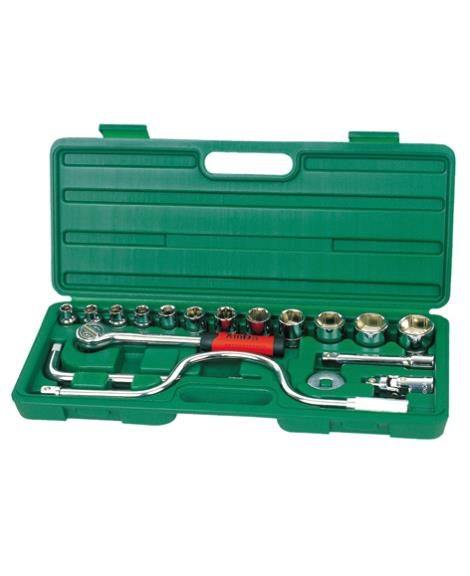 17件 1'2系列套筒组合工具