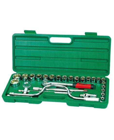 28件1'2系列套筒组合工具