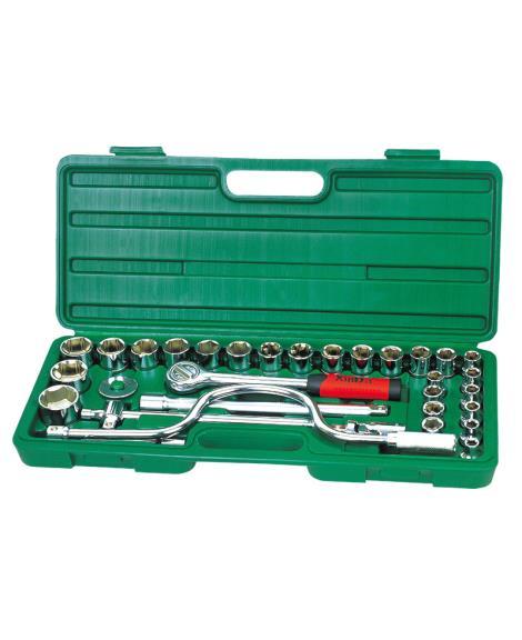 32件1'2系列套筒组合工具