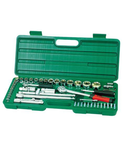 52件1'4&1'2系列套筒组合工具