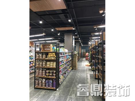 超市门面装修公司