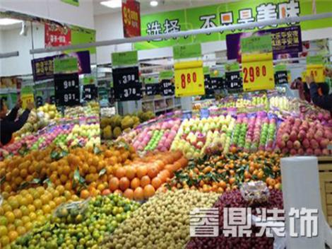 水果超市装修预算