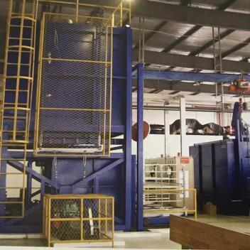 立式铝合金固溶炉