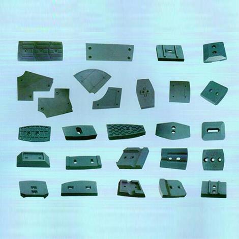 中外混凝土拌合设备叶片、衬板