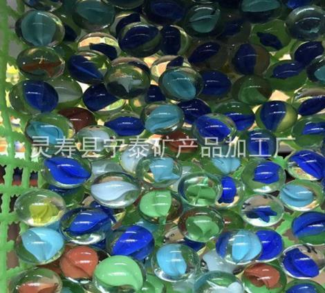 彩色玻璃球