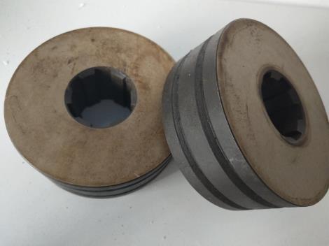 钢筋调直机压轮
