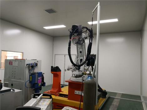 机械焊接无尘室