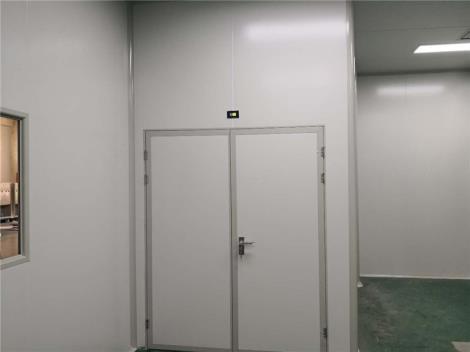 净化缓冲互锁双开门