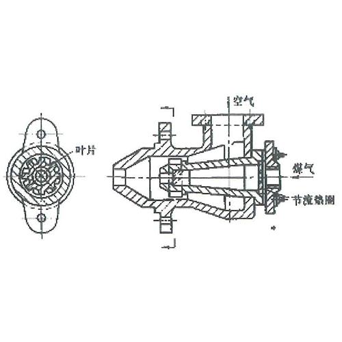 DW型低压涡流烧嘴厂家