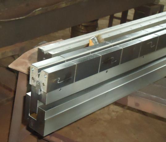 折弯机模具生产