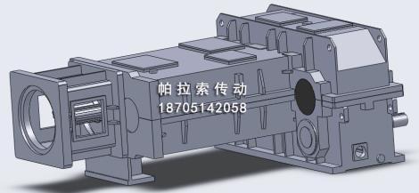 锥形双螺杆挤出机减速机定制