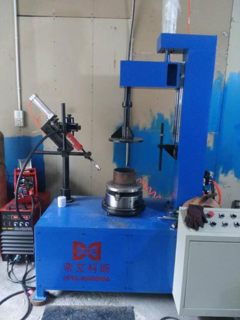 釜用密封件環縫焊接專機