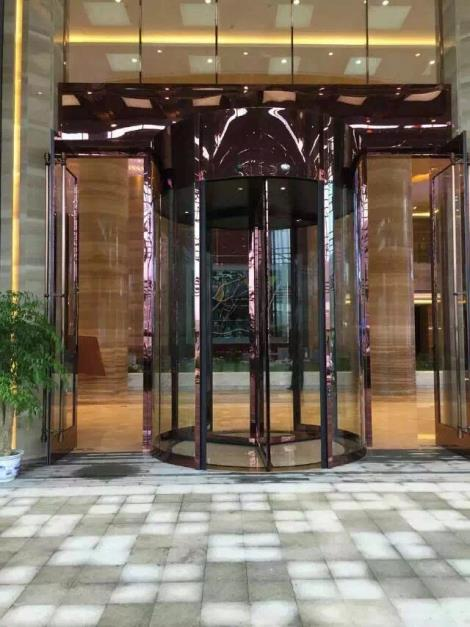 广西旋转门安装直销_更多酒店旋转门款式