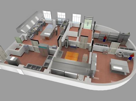 深圳酒店廚房設計