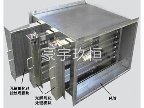 光氧催化净化器内部结构加工