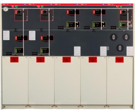 SDLF6V-1全绝缘全密封SF6充气柜
