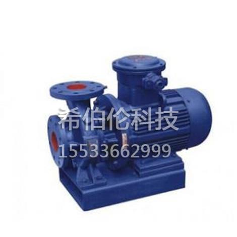 ISW型不锈钢卧式管道离心泵