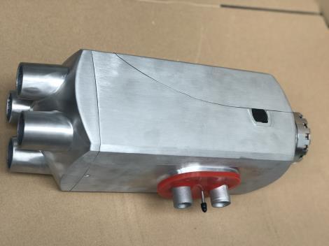 四口金属原色恒温驻车燃油空气加热器