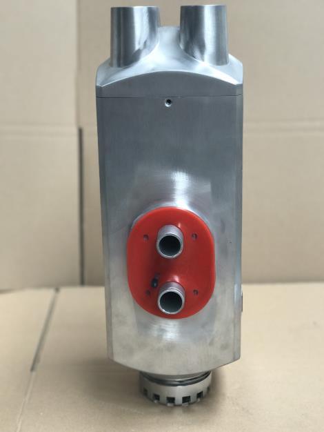 四口金属原色简易旋钮驻车燃油空气加热器