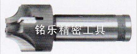 焊接式钨钢内R角铣刀4刃加工