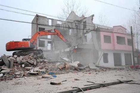 句容厂房拆除