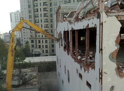 镇江厂房拆除