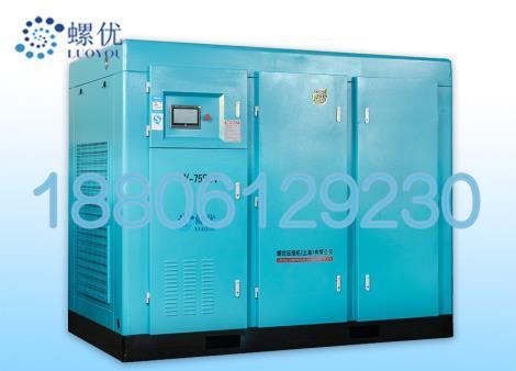 两级压缩永磁变频螺杆空压机厂家