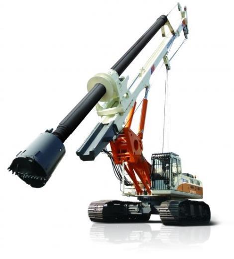 小型旋挖钻机