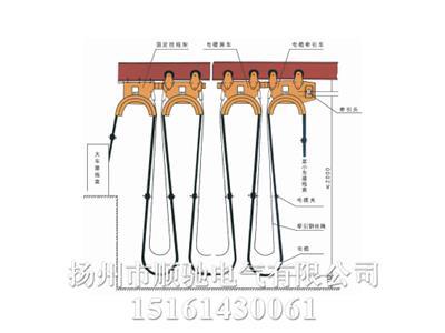工字钢电缆滑车直销