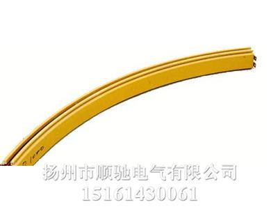 多极管式弯弧滑触线