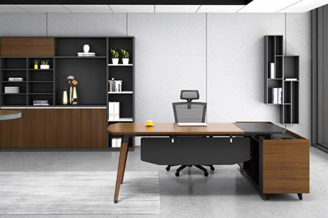 現代簡約經理辦公桌
