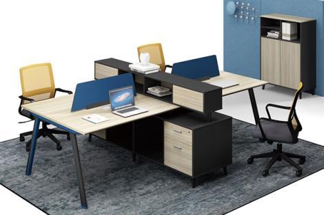 现代简约职员办公桌屏风卡位