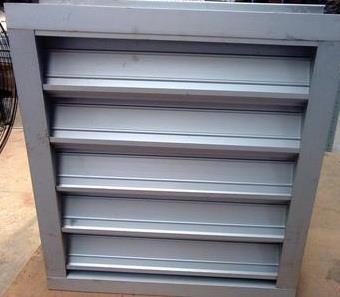 铝合金电动防雨百叶窗