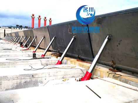 液壓升降壩 景觀壩 替代傳統落后的橡膠壩