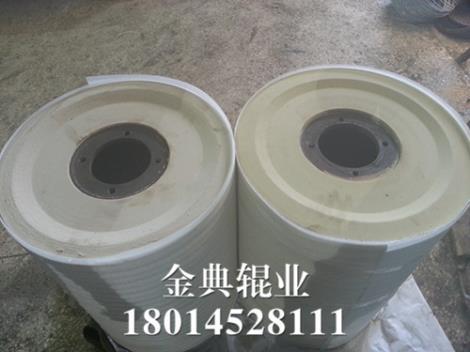 铜铝业胶辊定制