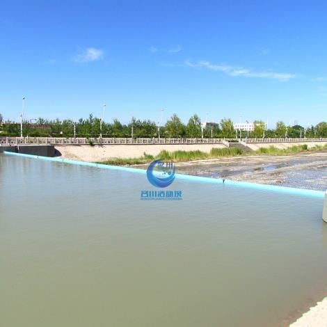 液壓升降壩 使用壽命長,橡膠壩已被替代