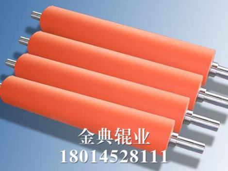 耐高温硅胶辊定制