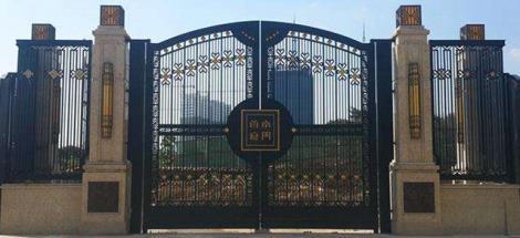 中式庭院鐵藝門
