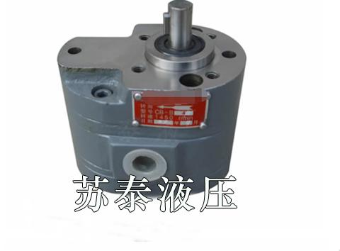 CB-B型双联齿轮泵