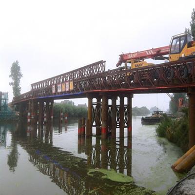 南通如东马丰河钢便桥