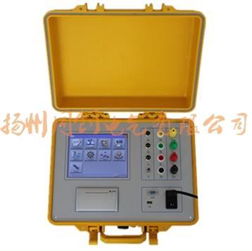 触摸屏三相电容电感测试仪