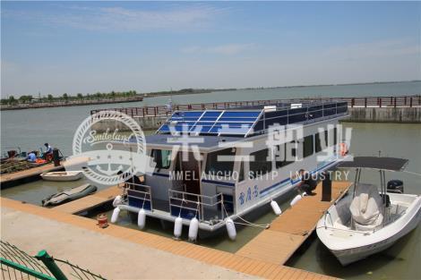 铝合金浮筒房船