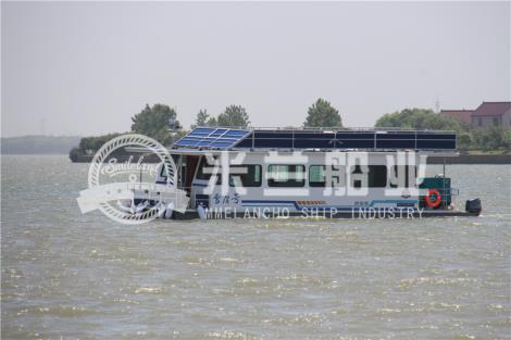 铝合金浮筒房船租赁