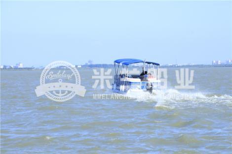 铝合金浮筒游艇