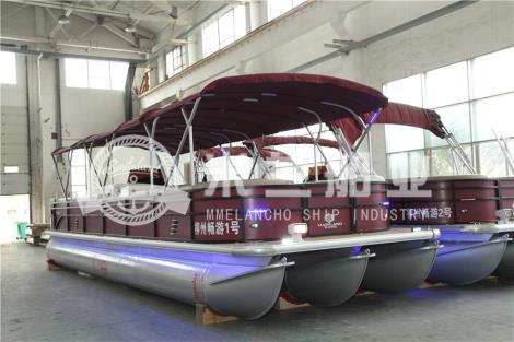 铝合金浮筒游艇直销