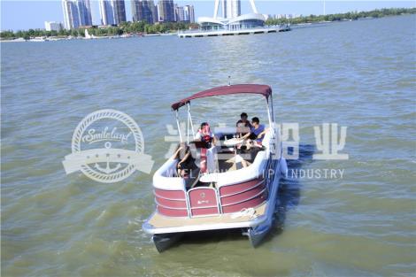 铝合金浮筒游艇定制