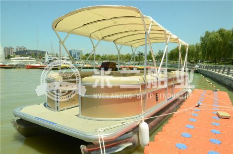 铝合金浮筒游艇图片