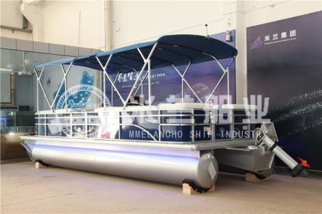 铝合金浮筒游艇销售