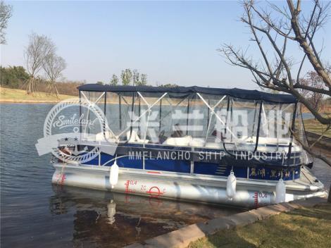 铝合金浮筒游艇租赁